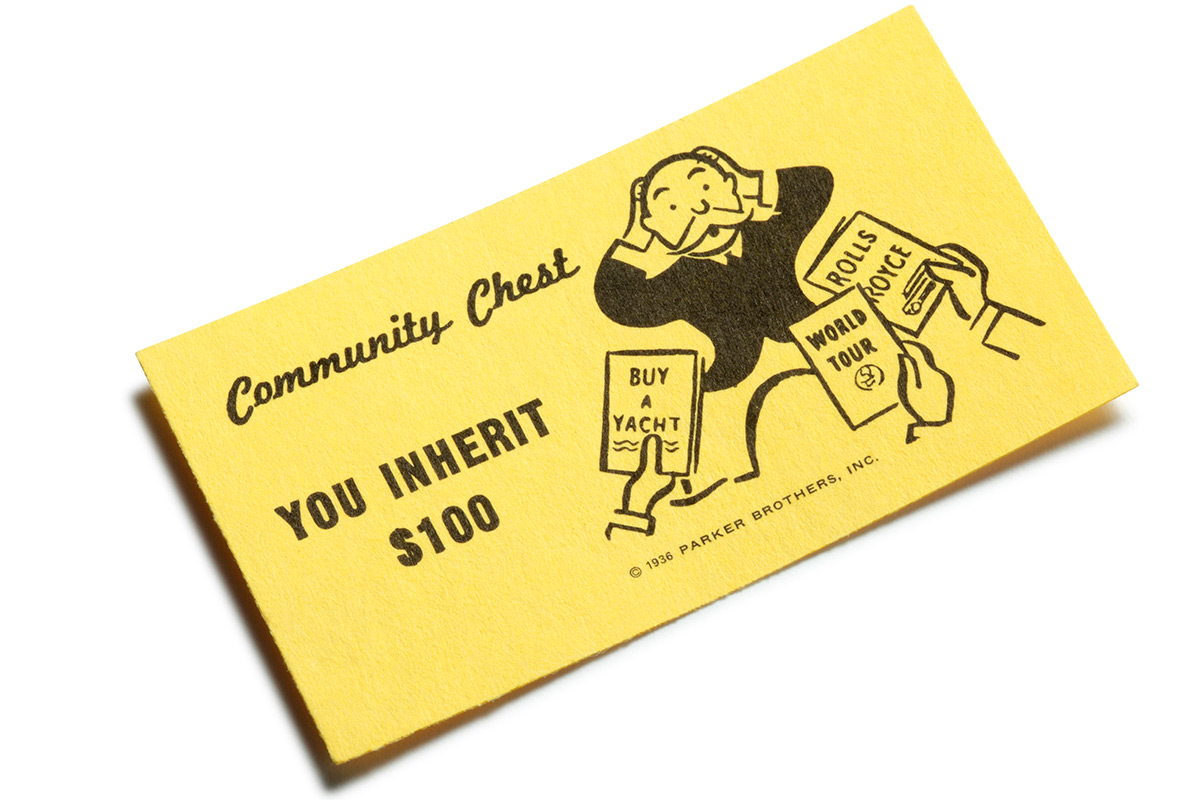 Probate Monopoly Card