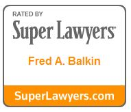 Super Lawyers Fred. A Balkin Award