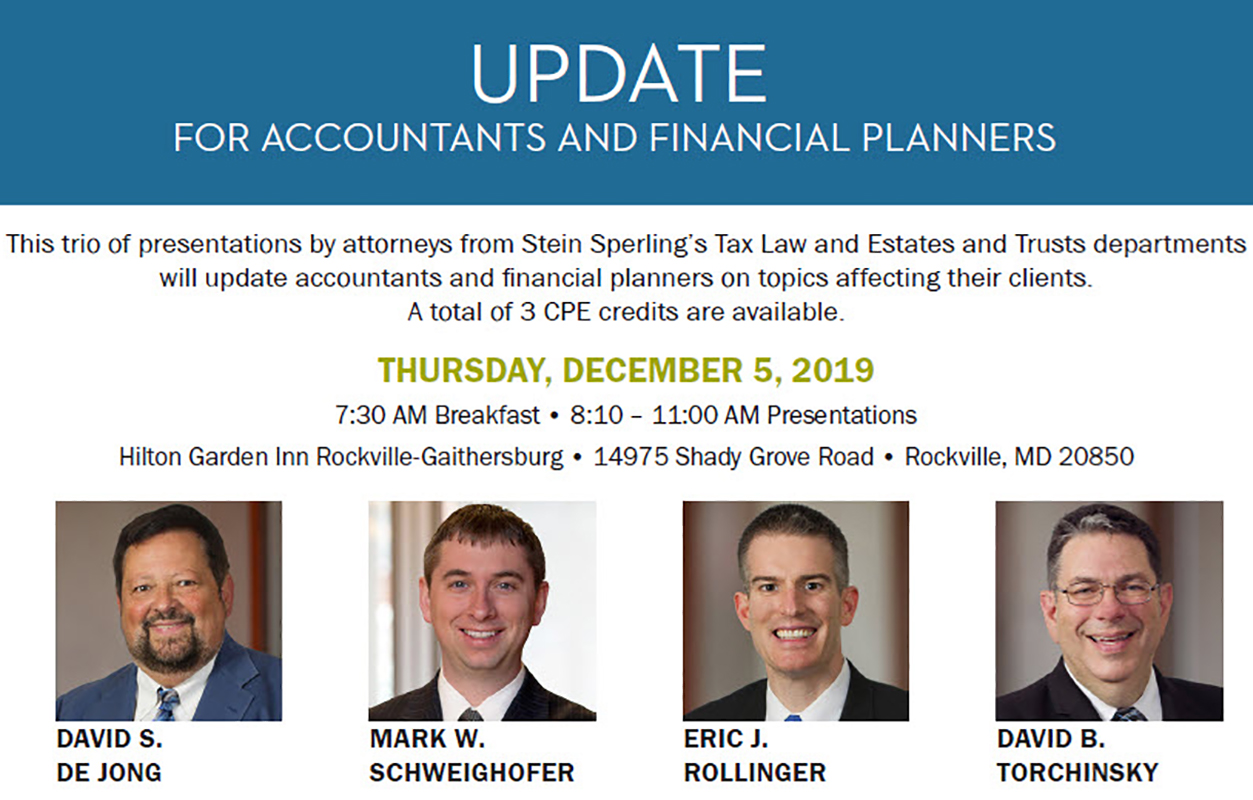 December Update for Accountants
